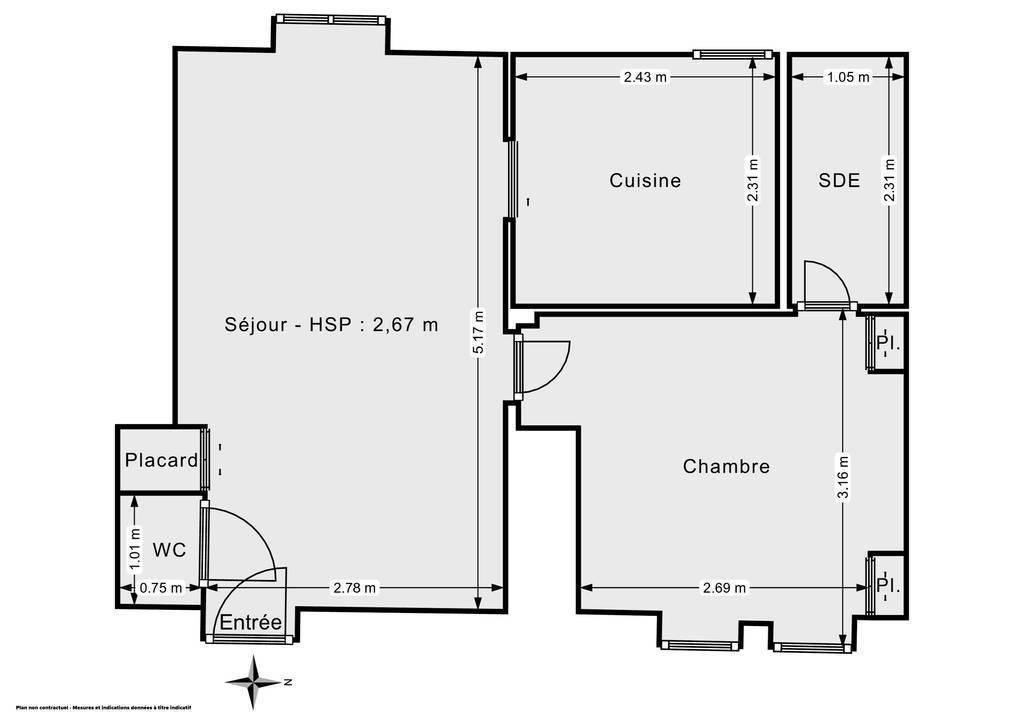 Vente Appartement Clamart (92140) 35m² 245.000€