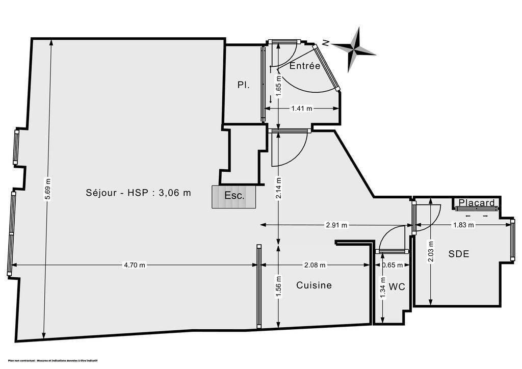 Vente Appartement Lyon 5E (69005) 36m² 325.000€