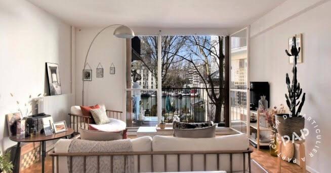 Vente Appartement Paris 19E (75019) 75m² 870.000€