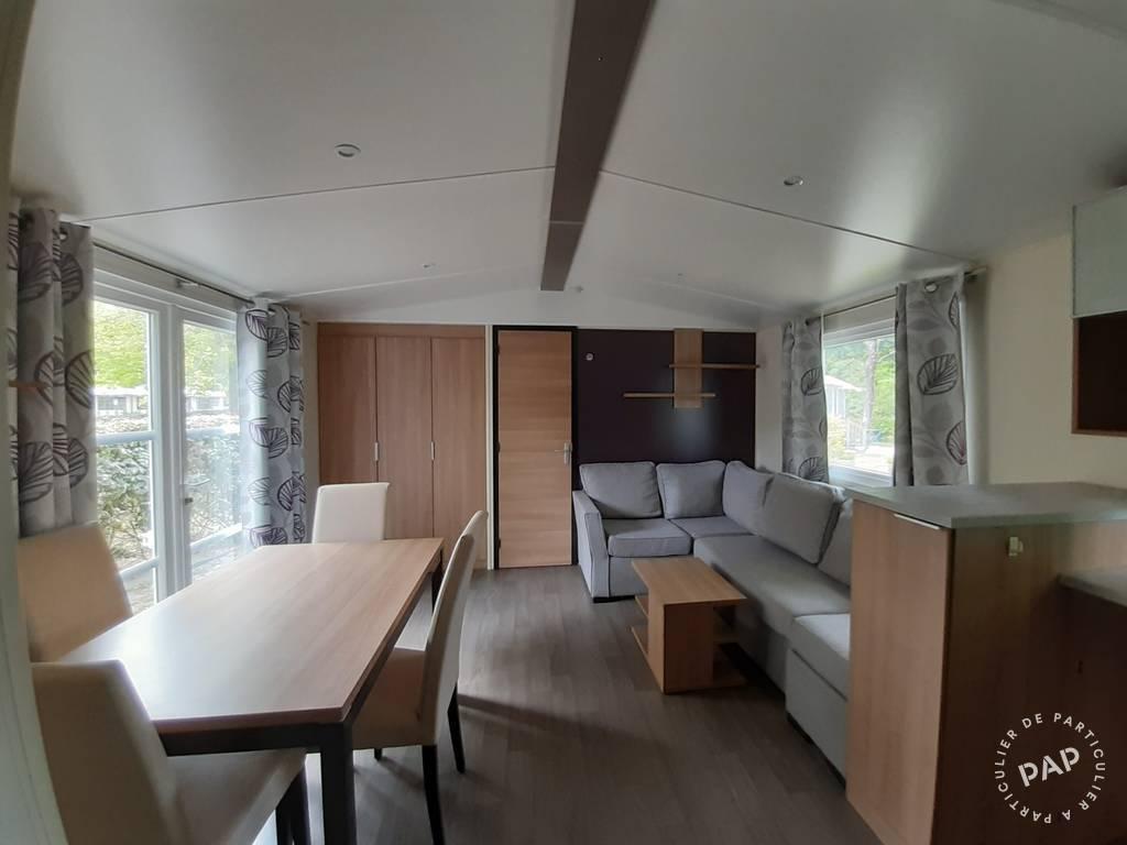 Vente Chalet, mobil-home Gastes / Camping La Reserve