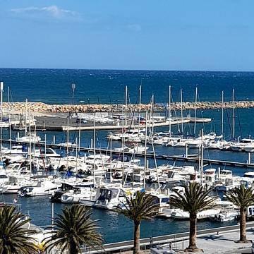 Canet-En-Roussillon - Vue Sur Le Port.