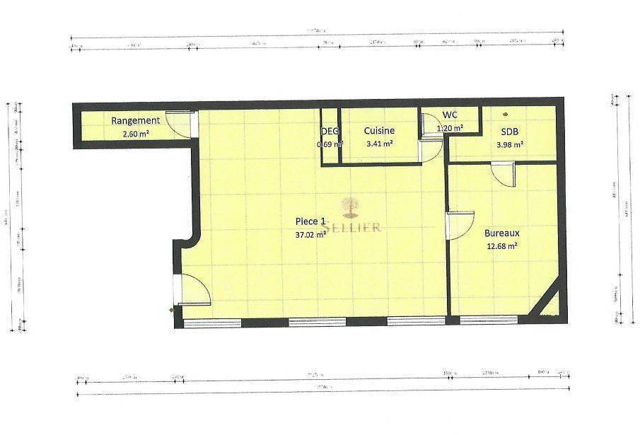 Vente immobilier 675.000€ A Usage Privé Et/Ou Professions Libérales Paris 15E
