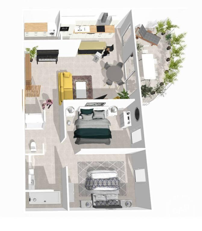 Immobilier Montélimar (26200) 228.000€ 63m²