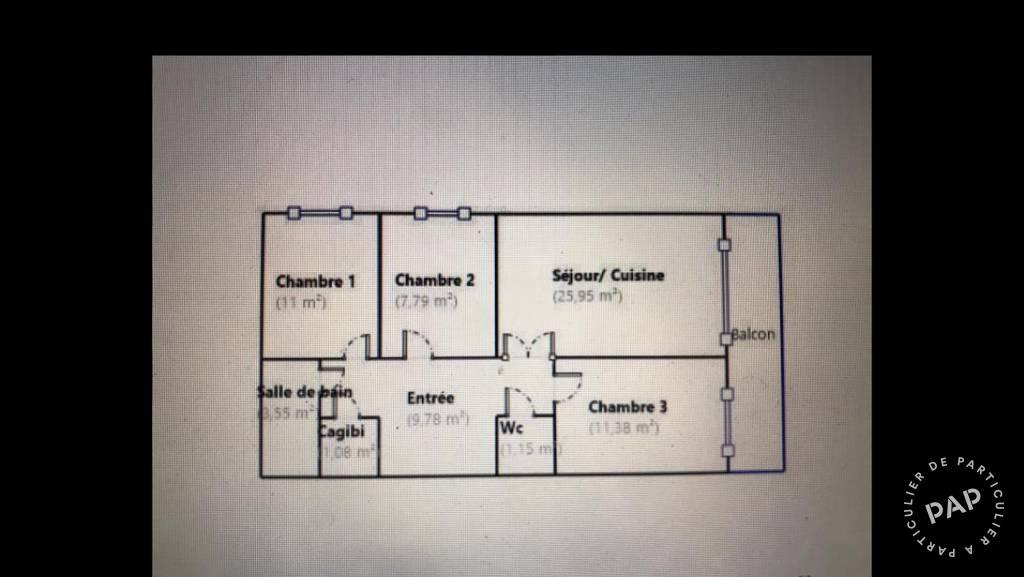 Immobilier Paris 19E (75019) 870.000€ 75m²