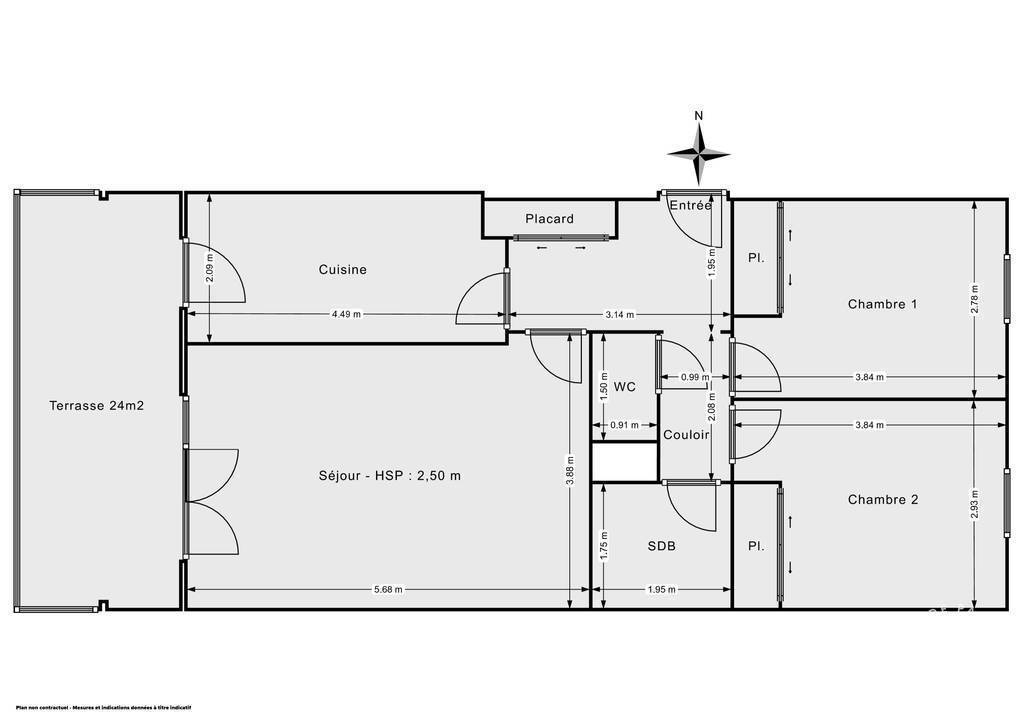 Vente Appartement La Garde (83130) 64m² 220.500€