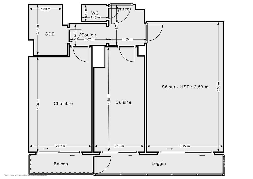 Vente Appartement Eybens (38320) 50m² 135.000€