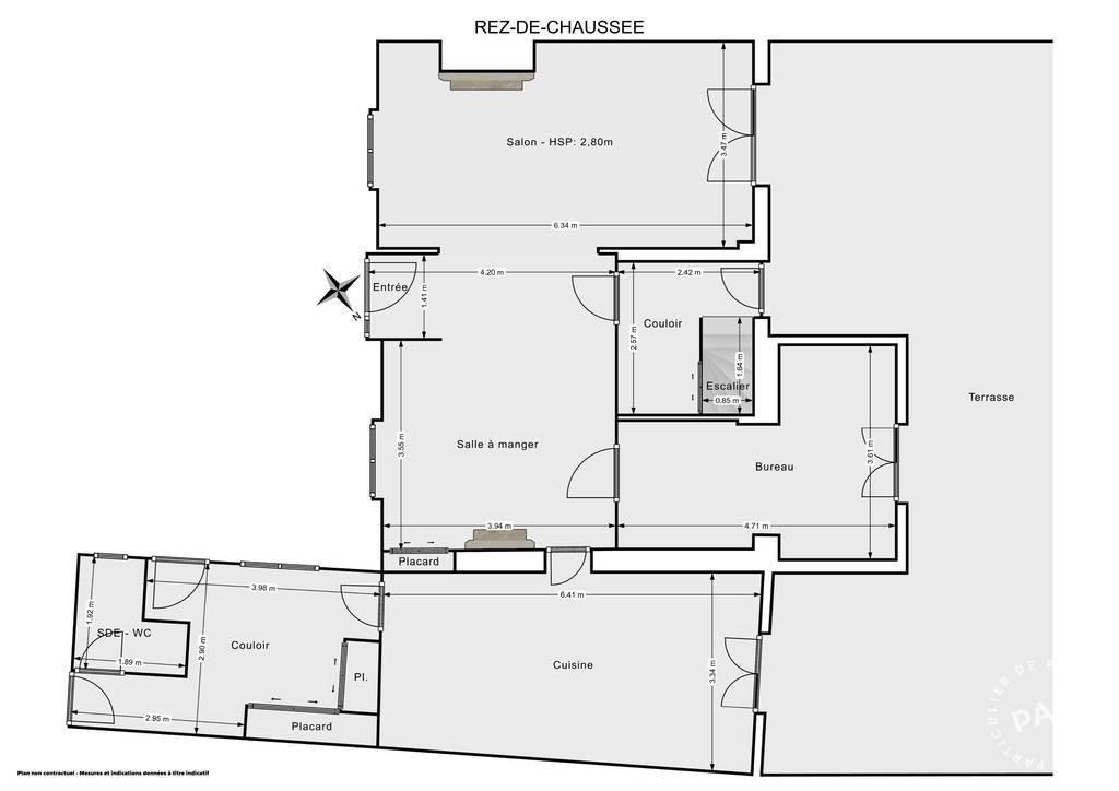 Vente Maison Les Mureaux (78130) 160m² 518.000€