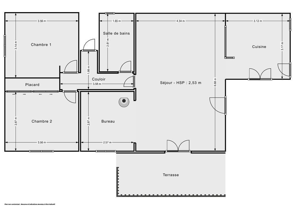 Vente Maison 30 Min Nîmes / Bagnols-Sur-Cèze 80m² 210.000€