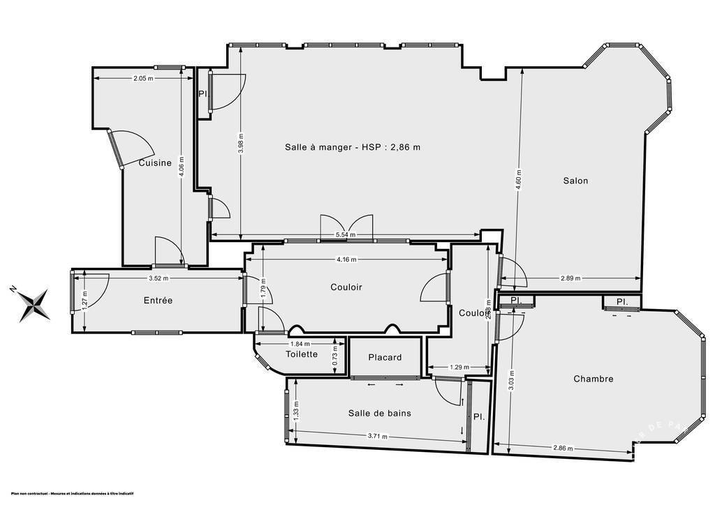 Vente immobilier 995.000€ Paris 16E (75016)