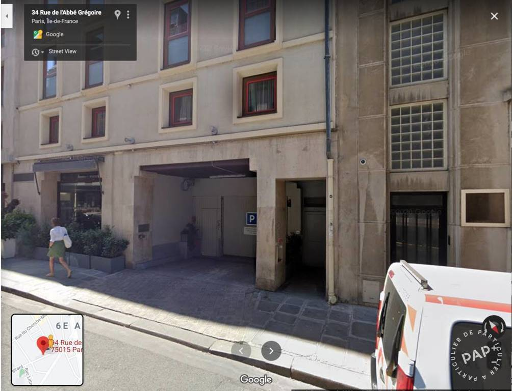 Location Garage, parking Paris 6E  180€