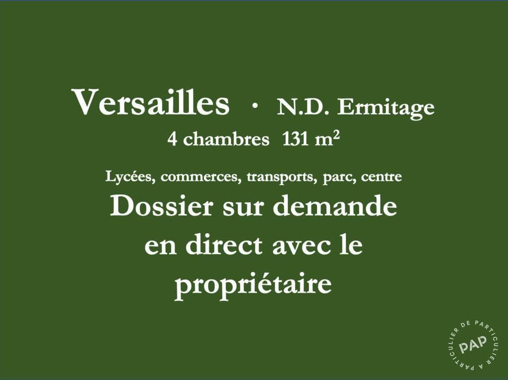 Vente Appartement Versailles (78000) 131m² 960.000€