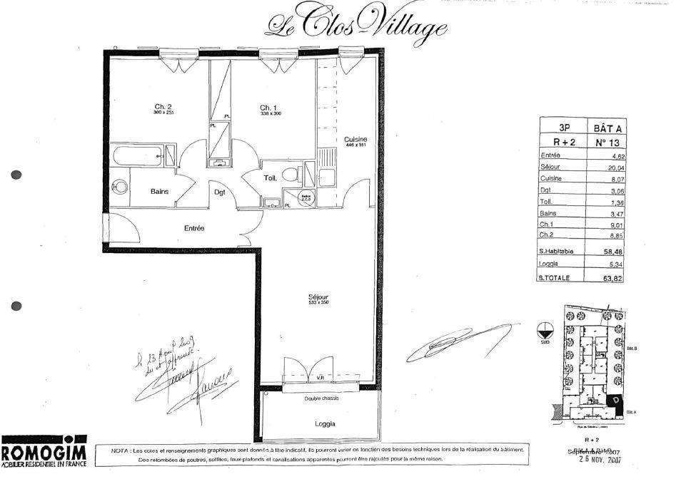 Vente Appartement Pomponne (77400)