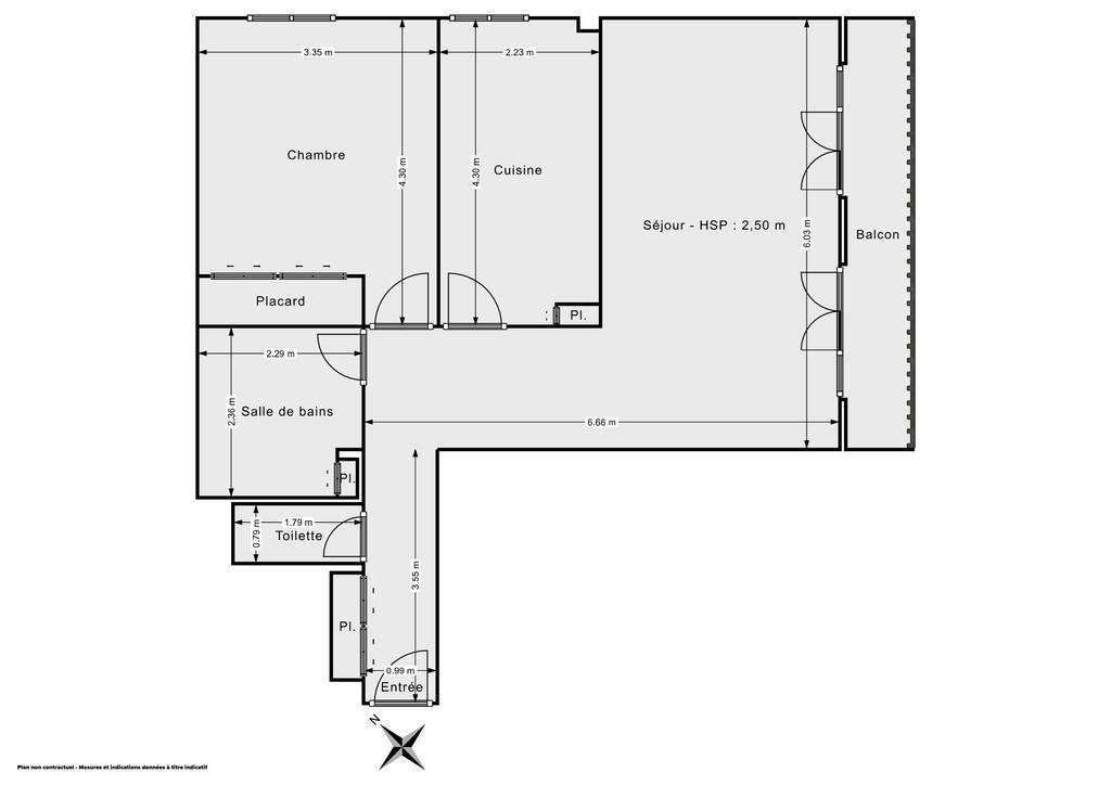 Vente Appartement Maurepas (78310) 60m² 177.000€