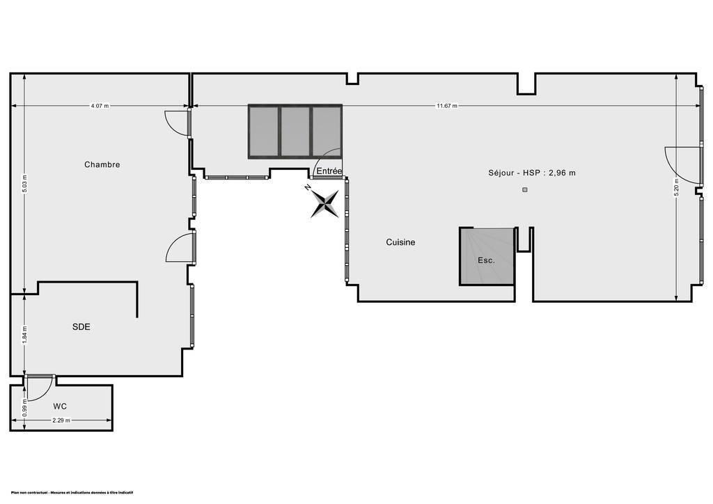Vente Appartement Paris 11E (75011) 79m² 865.000€