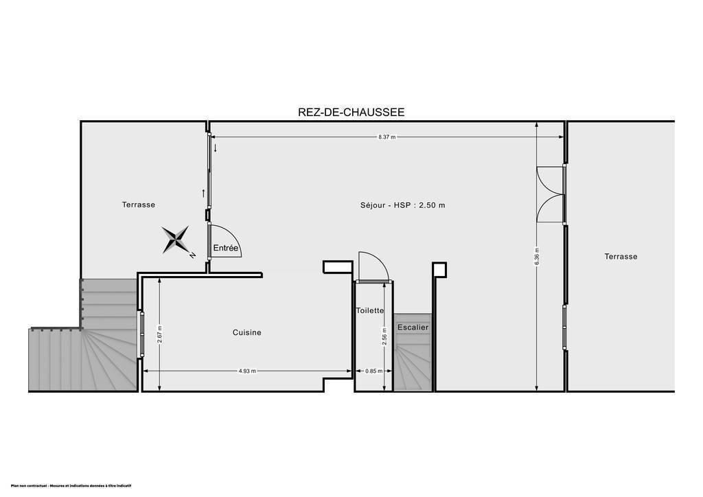 Vente Maison Narbonne (11100) 106m² 280.000€