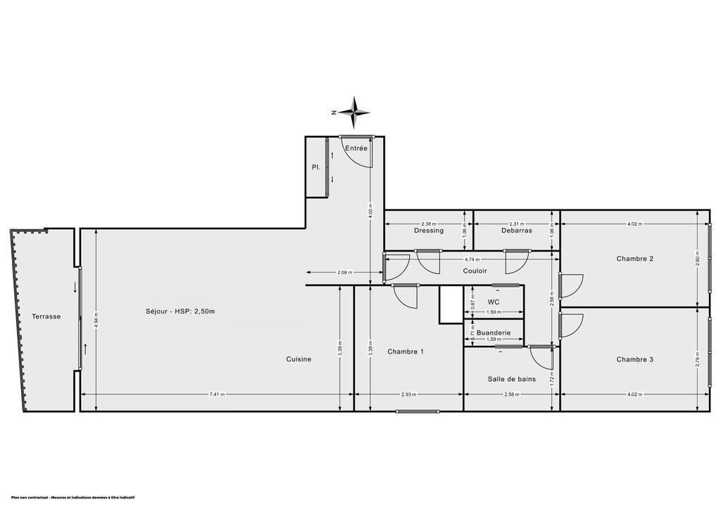 Vente Appartement Paris 20E (75020) 91m² 845.000€