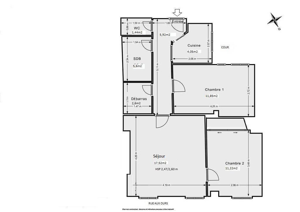 Vente Appartement À Deux Pas Du Centre Pompidou 88m² 1.080.000€
