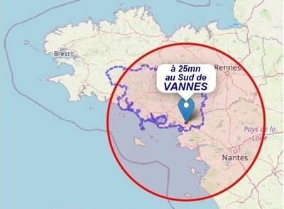 À 25 Minutes Au Sud De Vannes