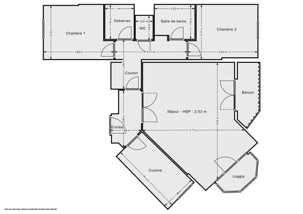 Vente Appartement Créteil (94000) 68m² 277.000€