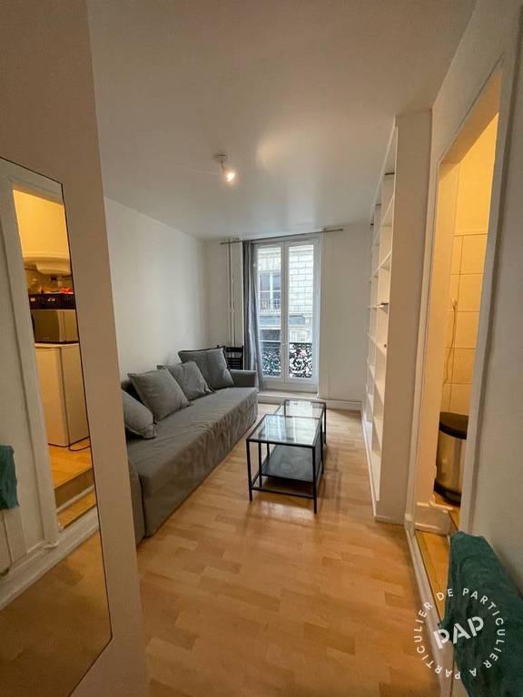 Location Appartement Paris 2E 16m² 830€