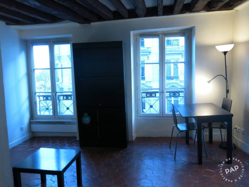 Location appartement studio Paris 4e