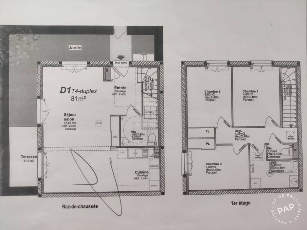 Vente maison 4 pièces Arenthon (74800)