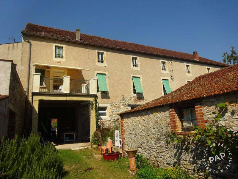 Vente maison 7 pièces Luzech (46140)
