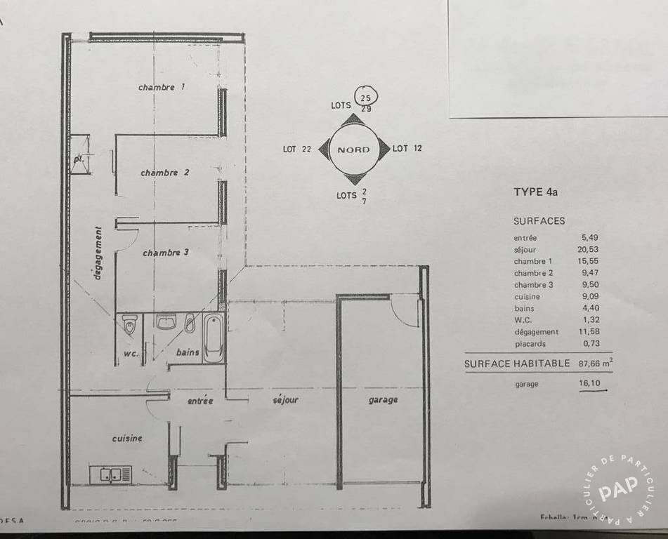Vente Maison 88m²