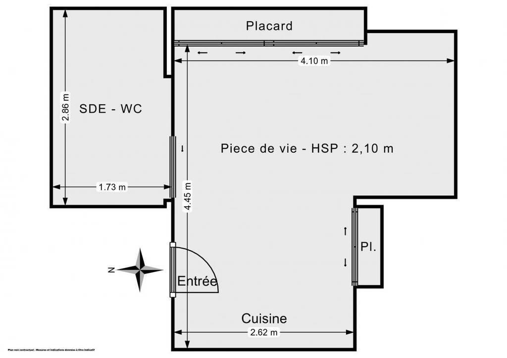 Appartement 169.000€ 22m² Paris 19E (75019)
