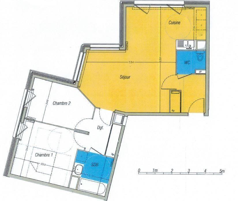Appartement 900€ 69m² Rouen (76000)