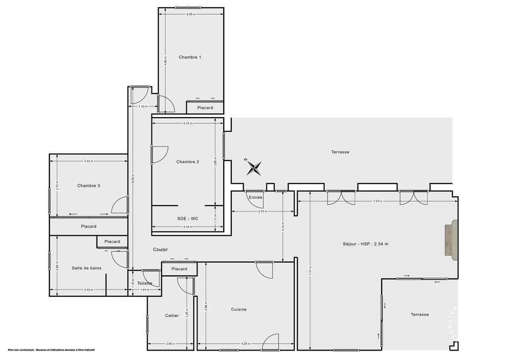 Vente Maison Poilhes (34310) 110m² 395.000€