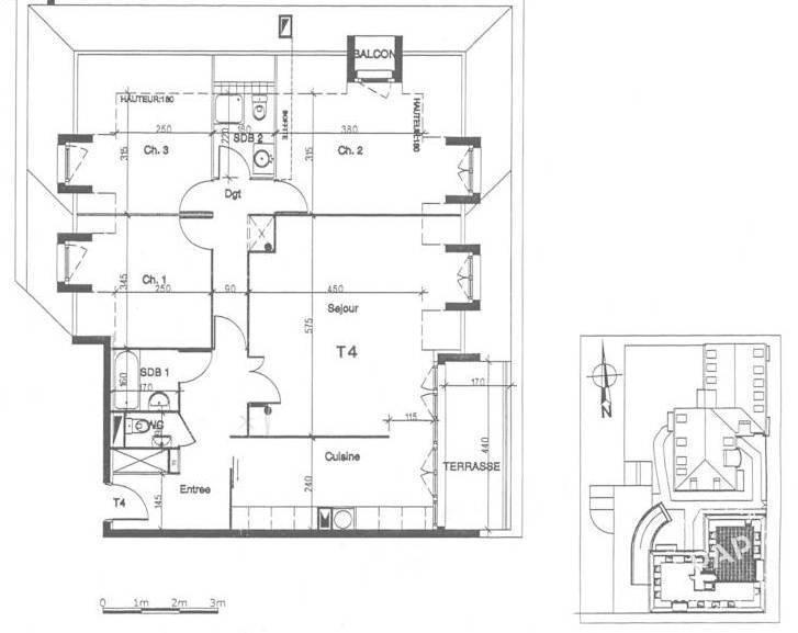 Vente appartement 4 pièces Saint-Quentin (02100)