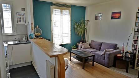Vente appartement 2pièces 39m² Paris 18E (75018) - 375.000€