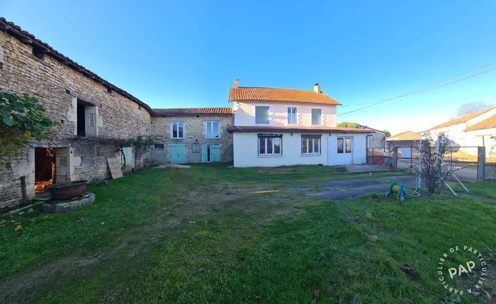 Vente maison 6 pièces Voulême (86400)