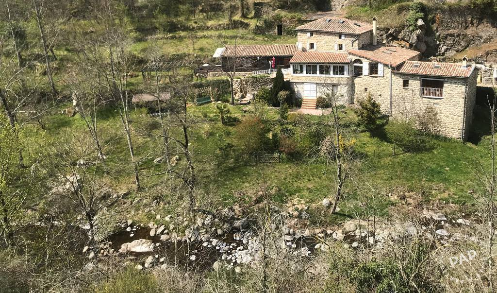 Vente Maison Gluiras (07190) 160m² 380.000€