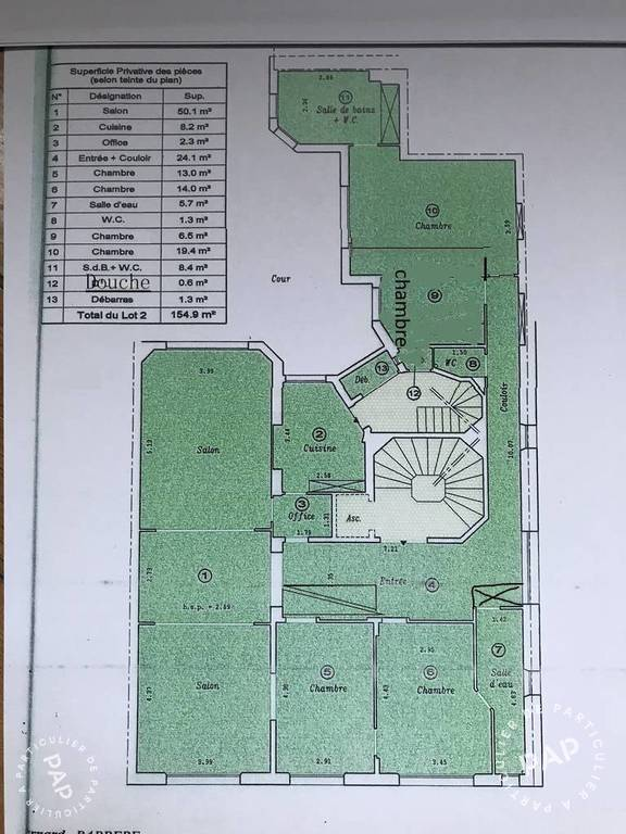 Vente immobilier 1.790.000€ Paris 16E (75116)