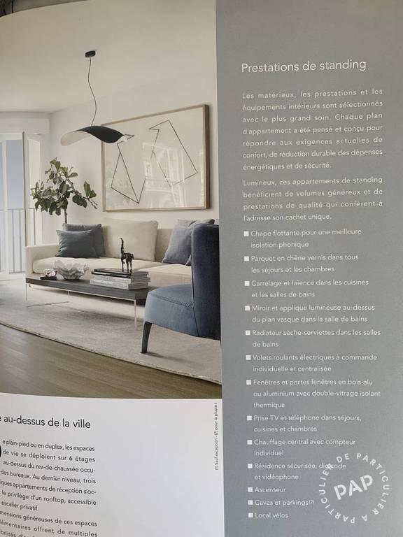 Appartement 750.000€ 67m² Boulogne-Billancourt (92100)