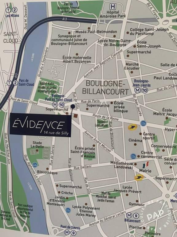 Vente Boulogne-Billancourt (92100) 67m²