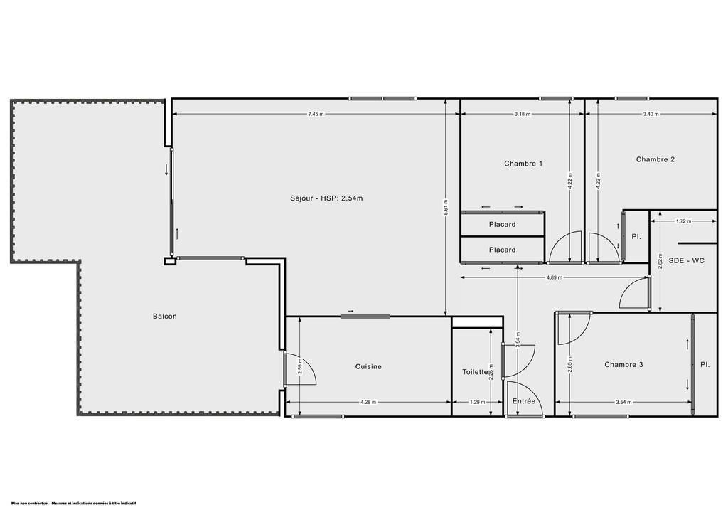 Vente Appartement Chambéry (73000) 98m² 350.000€