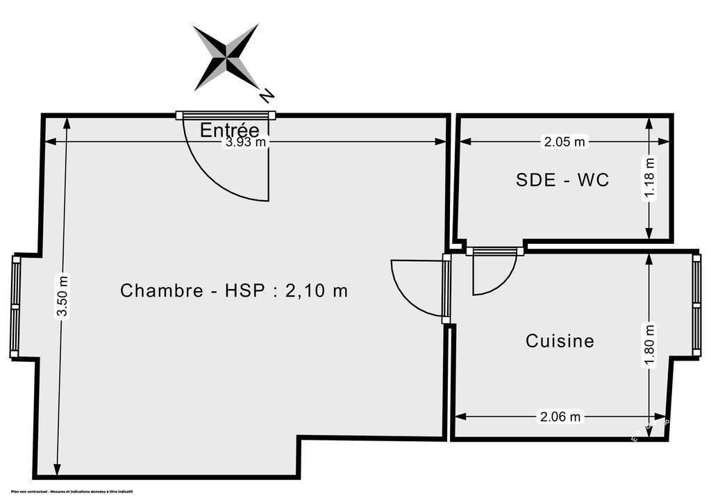 Vente Appartement Paris 10E (75010) 13m² 195.000€