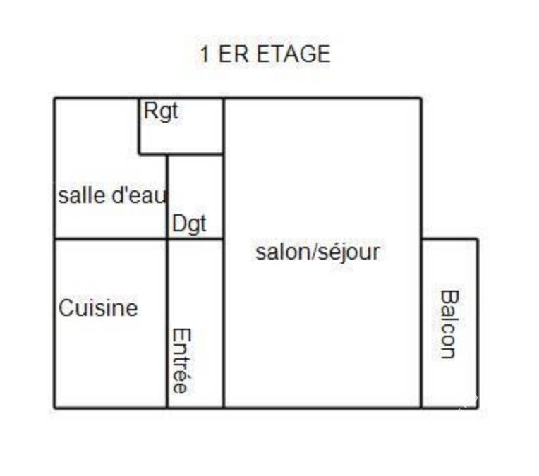 Vente appartement studio Montbéliard (25200)