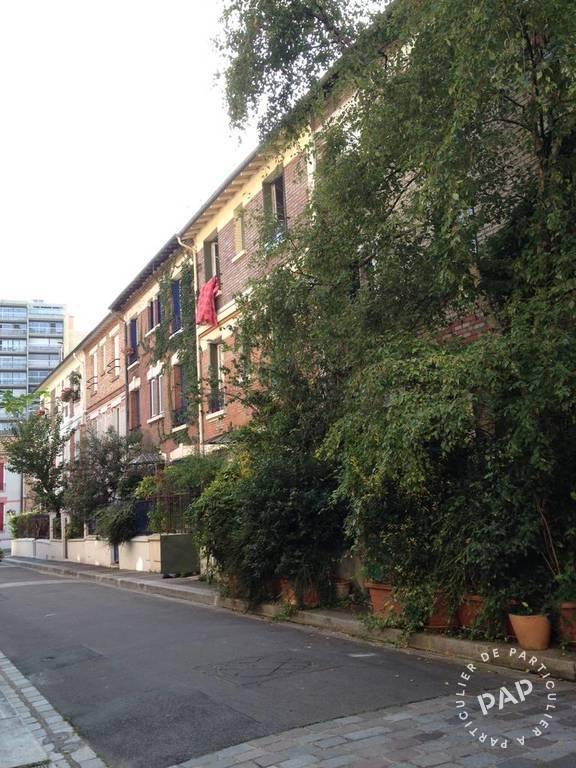 Location appartement studio Paris 13e