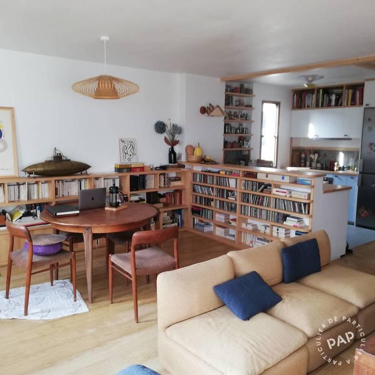 Location appartement 3 pièces Paris 19e