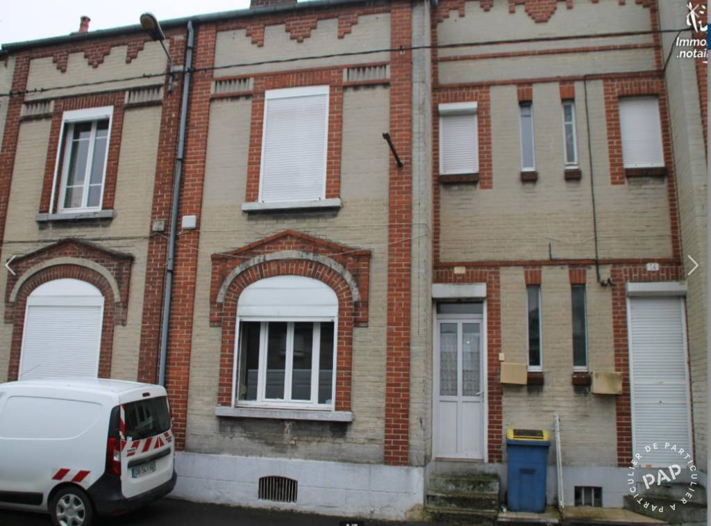 Vente maison 4 pièces Hirson (02500)