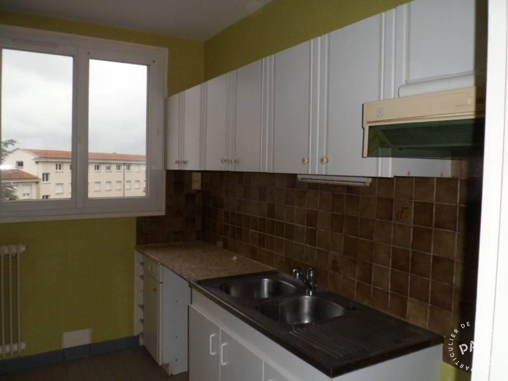 Vente appartement 4 pièces Montluçon (03100)