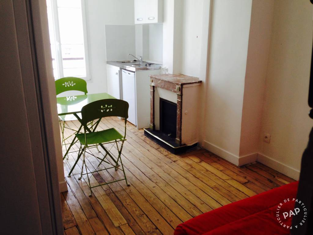 Location appartement studio Paris 18e