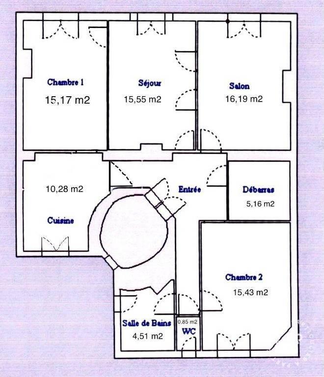 Appartement 1.095.000€ 93m² Paris 14E (75014)