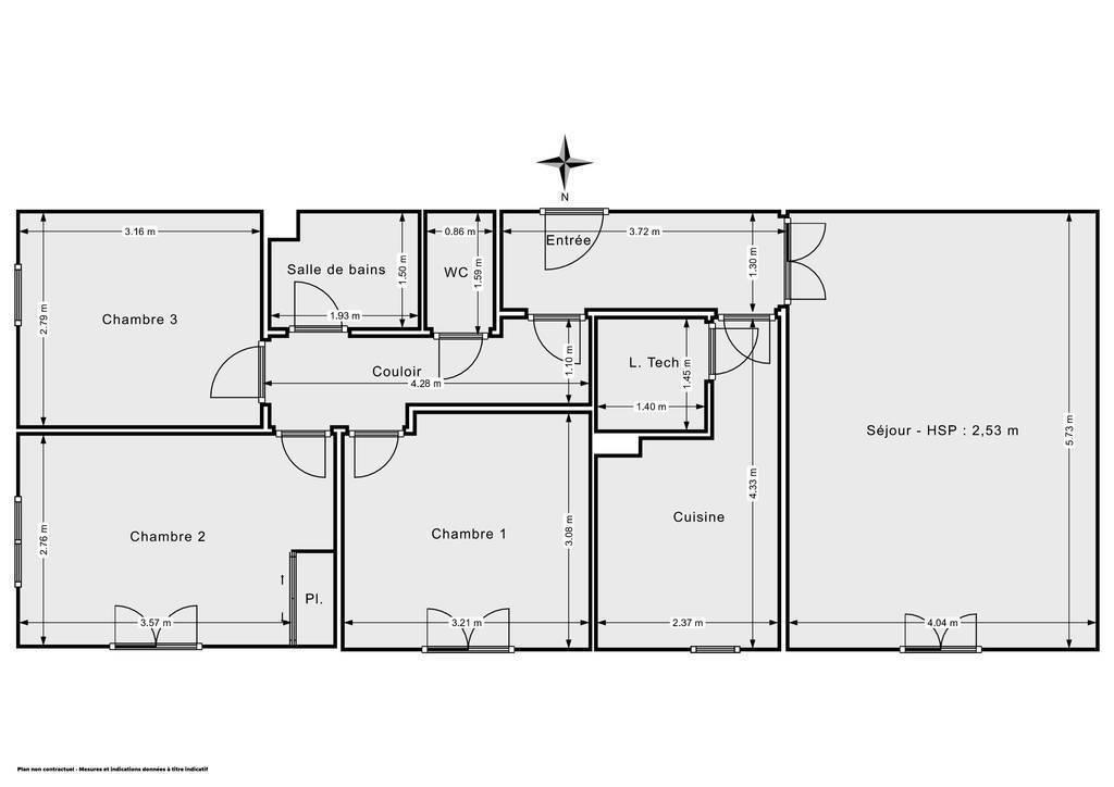 Vente Appartement Brive-La-Gaillarde (19100) 78m² 155.000€