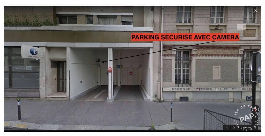 Location Garage, parking Paris 10E (75010)  90€