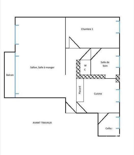 Vente Appartement Boulogne-Billancourt (92100) 60m² 530.000€